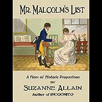 Mr. Malcolm's List (English Edition)