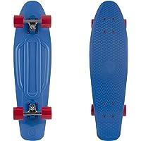 "Retrospec Quip Skateboard 27"" Classic Plastic Cruiser Complete Skateboard w/ABEC 7 Bearings"