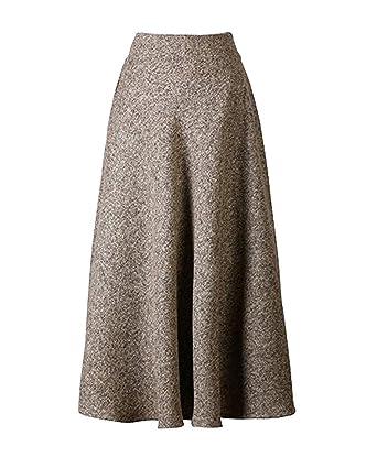 Scothen Femme Ligne Avec Shirt De Jupes A Vintage t Laine Jupes n4nTqr1x