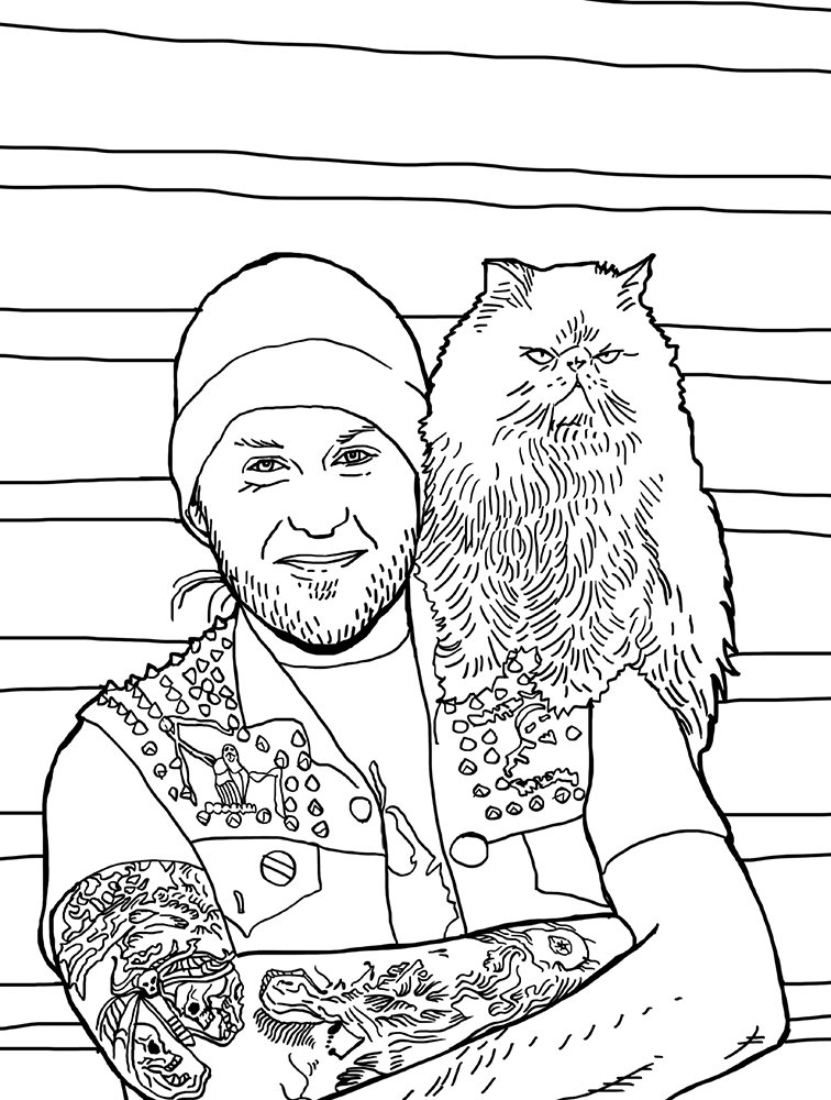 Amazon Metal Cats Coloring Book 9781576878453 Alexandra Crockett Chuck Gonzales Books