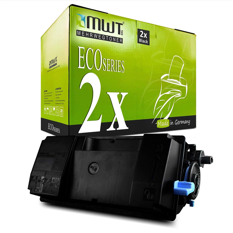 2x MWT Toner Cartucho para Kyocera Ecosys M 3040 3540 idn ...