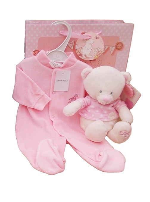 BNWT bebé recién nacido niños o niñas oso de peluche y traje de ...