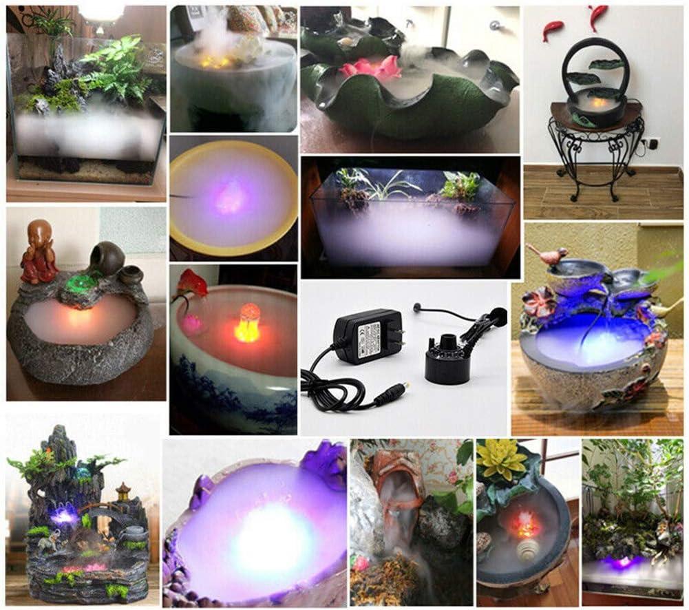 Farbwechsel 12 LED f/ür Halloween Weihnachtsfest Party Dekoration AWFAND Halloween Hexenkessel Nebelherstellung