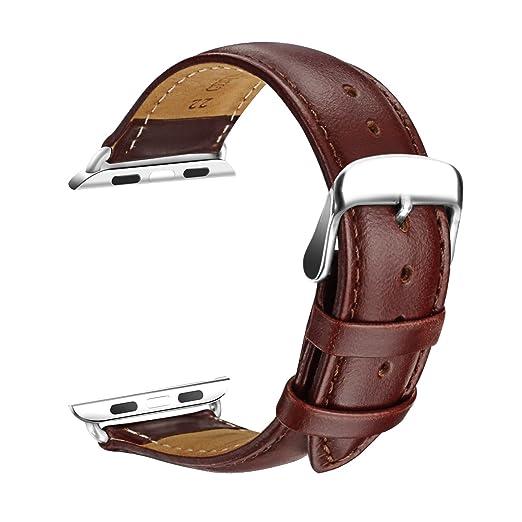 24 opinioni per Apple Watch Braccialetto Strap, SOWTECH 42 millimetri braccialetto cinturino in