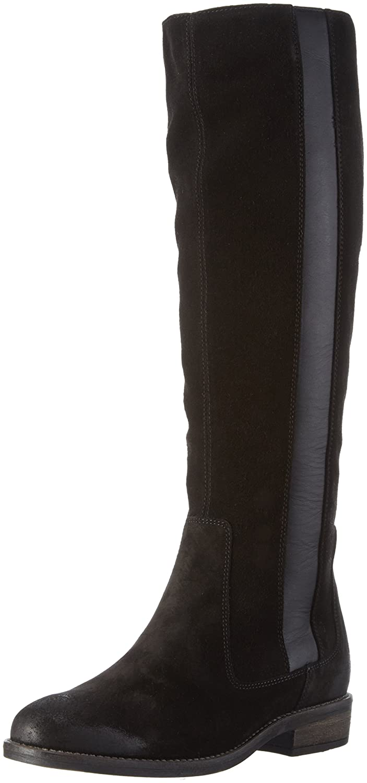 Long Boot, Bottes Hautes Femme - Noir - Noir (990), 36 2/3 EU (4 UK)Marc O'Polo