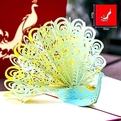 Tarjeta de felicitación de papel de impresora 3D, tarjeta de ...