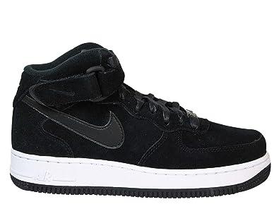 ef022da04f2e24 Nike Herren 818596031N Schwarz Wildleder Hi Top Sneakers  Amazon.de ...