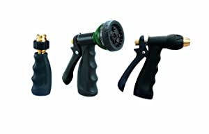 Orbit 3-Piece Hose Spray Nozzle Set 58594