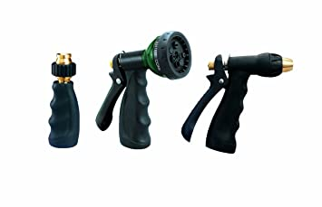Orbit 3 Piece Hose Spray Nozzle Set 58594