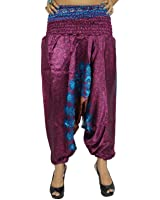 Yoga Harem Aladdin Pant Casual Hippie Baggy Pants Women Indian Trousers