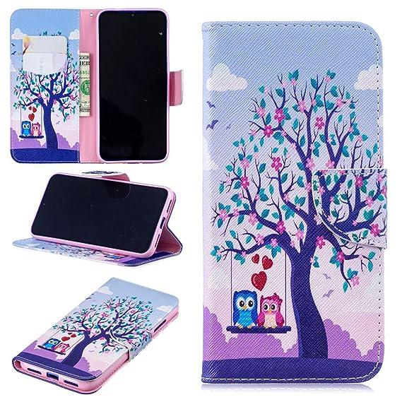 Amazon Com Wvymx Xiaomi Redmi Note 7 Case Book Style Wallet Case
