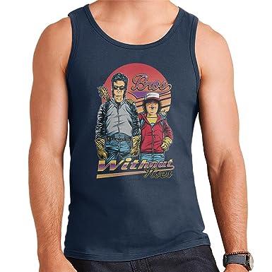 Stranger Things Bros Steve Dustin Mens Vest: Amazon.es: Ropa y ...
