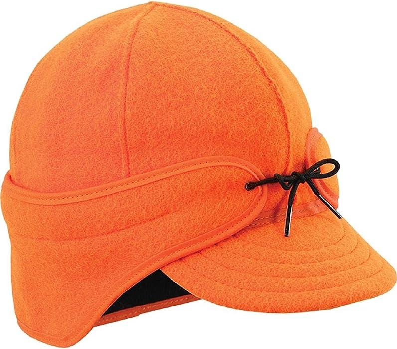c2130311cd6 Amazon.com  Stormy Kromer Rancher Cap Blaze Orange 6.875  Clothing