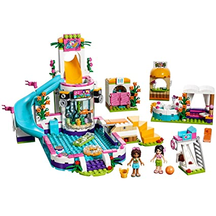 LEGO Friends Heartlake Summer Pool 41313 New Toy for January 2017 ...