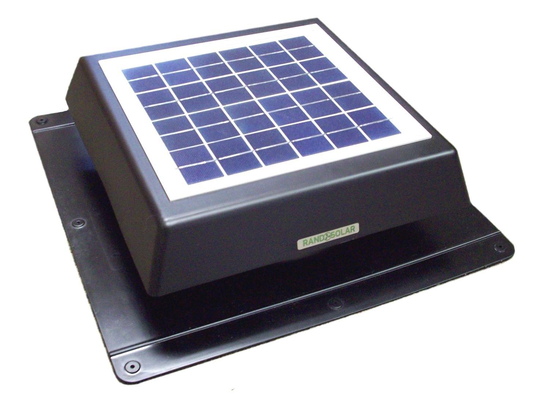 RAND Solar Attic Fan: A Mini Rooftop Option