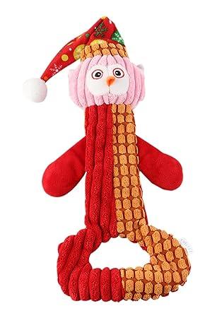 IFOYO Juguete chirriante para perro, juguete grande para perro, peluche resistente, juguete para