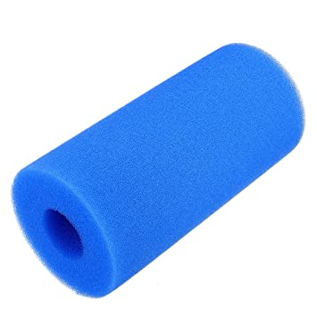 Lovinn - Filtro de Espuma para Piscina, Lavable, Reutilizable, Cartucho de Esponja para