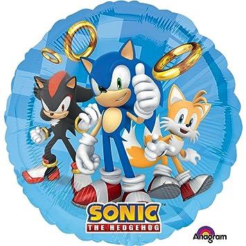 Foil Globos, sd-c: Sonic El Erizo: Amazon.es: Juguetes y juegos