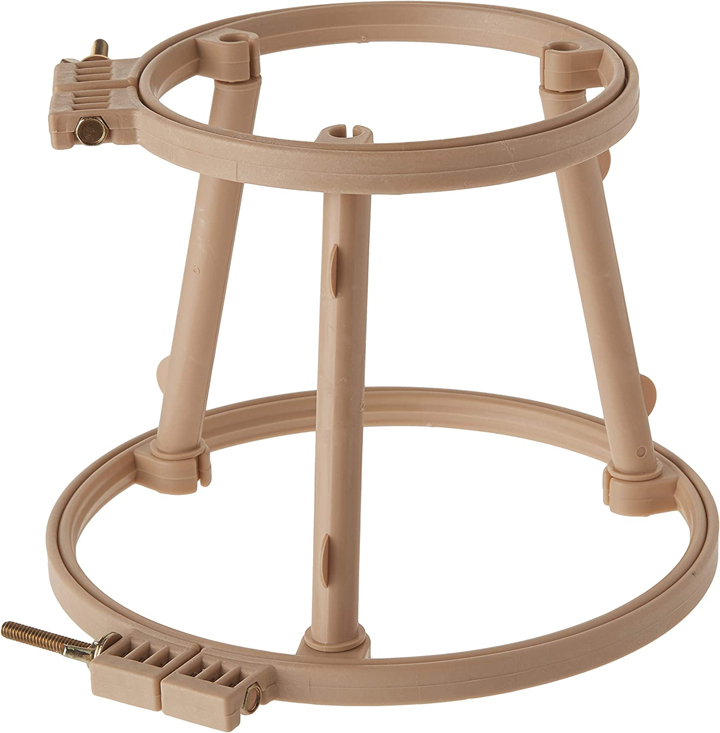 Morgan 7-Inch and 10-Inch Lap Stand Combo Hoops