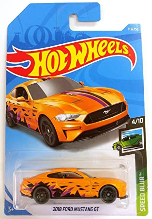 Hot Wheels 2015 Ford Mustang GT HW Speed Graphics #4//10 White Die-Cast Mattel