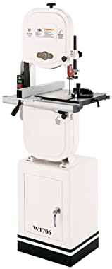 "Shop Fox W1706 14"" Band saw With Cast Iron Wheels"