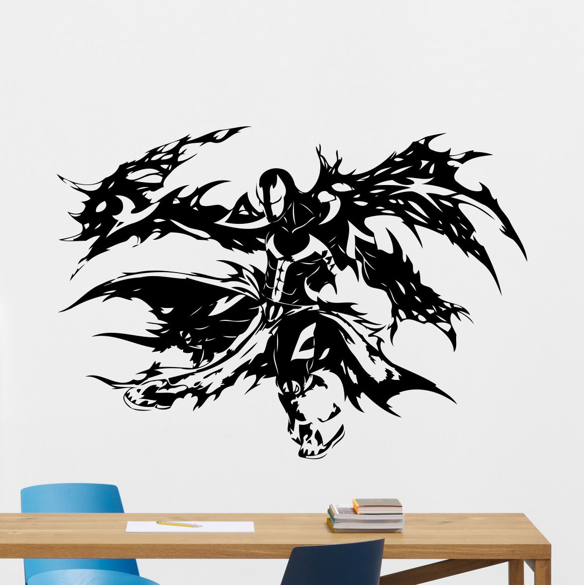 amazon com spawn wall vinyl decal marvel comics superhero wall amazon com spawn wall vinyl decal marvel comics superhero wall sticker video game gaming wall decor cool wall art kids teen room wall design modern bedroom