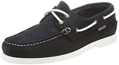 Pellet Tropic E16, Chaussures bateau homme - Bleu (Velours Marine)- 42 EU 994d2db5bffc