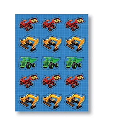 Childrens Construction Vehicle Stickers