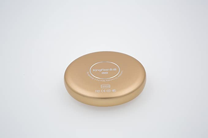 KingFast 120 GB SSD USB 3.0 externa de disco duro de estado sólido resistente a los golpes portátil con tipo C puerto dorado: Amazon.es: Informática