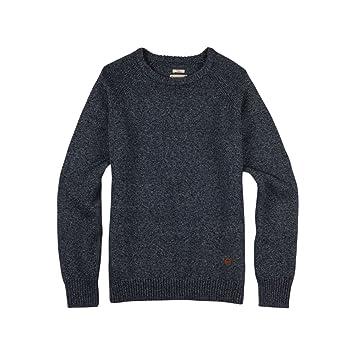 Burton Gus Sweater - Sudadera, Hombre, Sweatshirt Gus Sweater, Azul Oscuro Jaspeado, Medium: Amazon.es: Deportes y aire libre