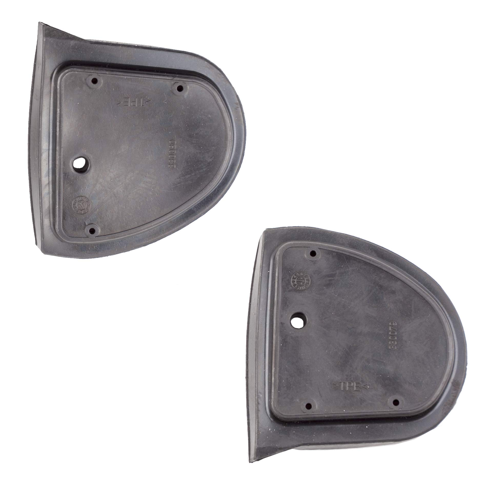 Exterior Mirror Rubber Gasket Seals Pads Left+Rigth for Mercedes W210 Facelift