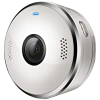 Motorola VerveCam+ QHD 2,5K Videocamera Leggera e Versatile, IP68 - Bianco