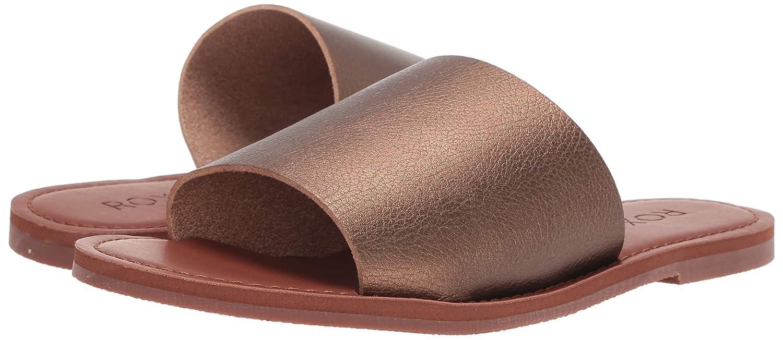 06031b609 Amazon.com  Roxy Women s Kaia Slip Slide Sandal Flat  Shoes