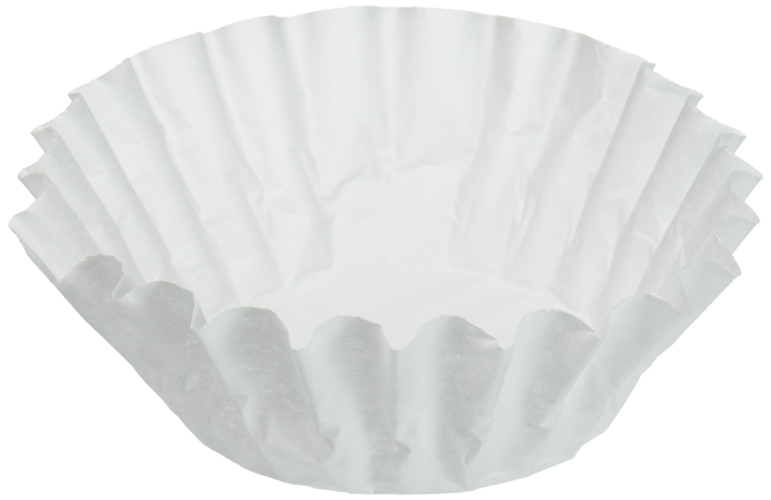 Bunn 500 Paper Regular Coffee Filter for 12-Cup Commercial Brewers (Case of 500)
