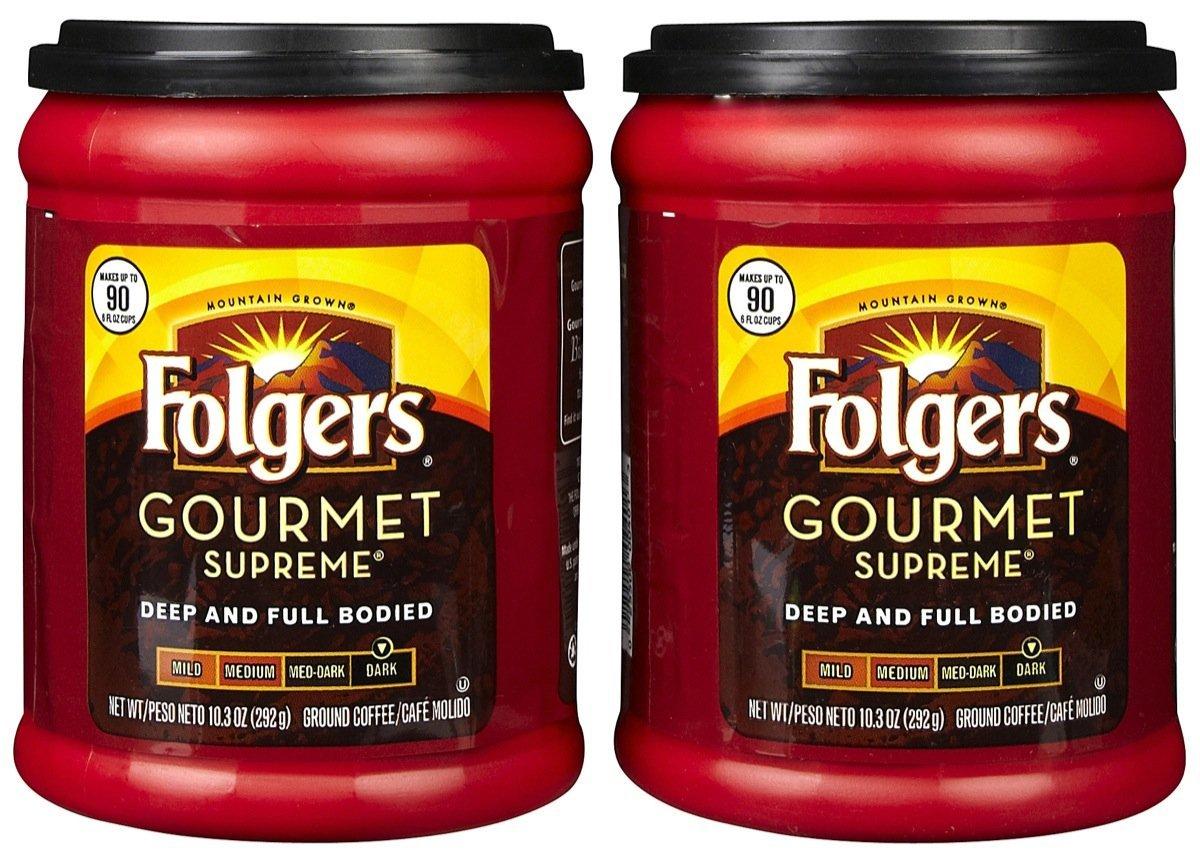 Folgers Gourmet Supreme Ground Coffee - 10.3 oz - 2 pk