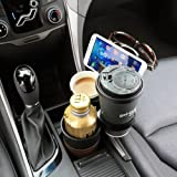 Gadget Paradise 5 in 1 Multi Cup Holder black sunglasses key coin holder car accessories