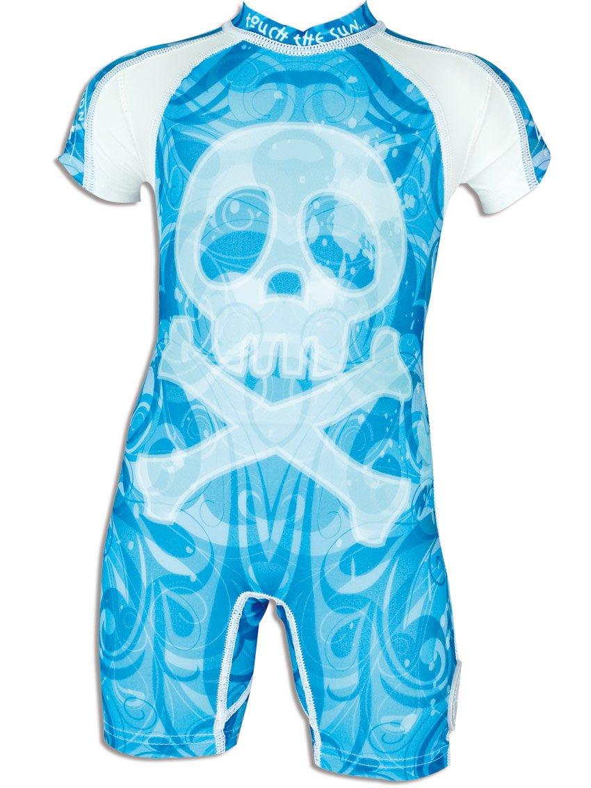 4BB2 Boo maillot de bain anti-uV pour enfant Bleu Bleu