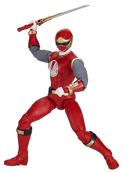 Amazon.com: Power Rangers Legacy ‑ 6.5-Inch Ninja Storm Red ...