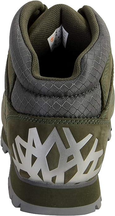 Fondo verde labios yo  Timberland Euro Sprint Hiker Boots A1VR9 Green Size 6.5 | Boots - Amazon.com