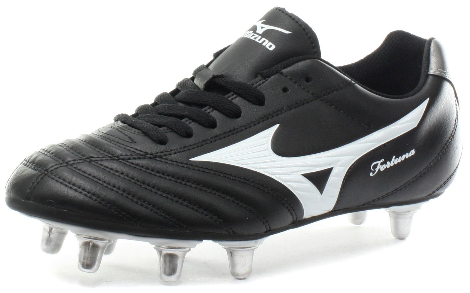 Mizuno Fortuna 4 Rugby Boots - 9.5 - Black by Mizuno