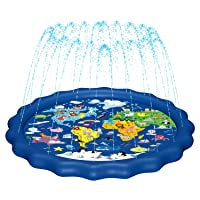 MAGIFIRE Splash Pad, Sprinkler for Kids & Baby Pool 3-in-1 67
