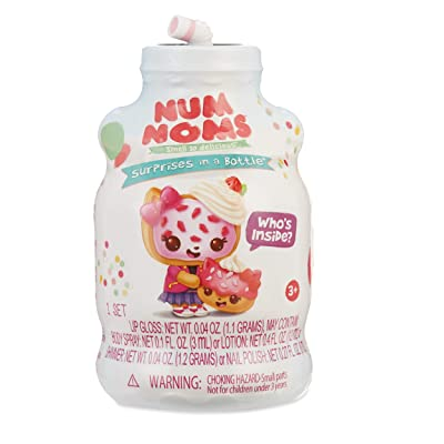 Num Noms Mystery Makeup with Hidden Cosmetics Inside, Multicolor: Toys & Games