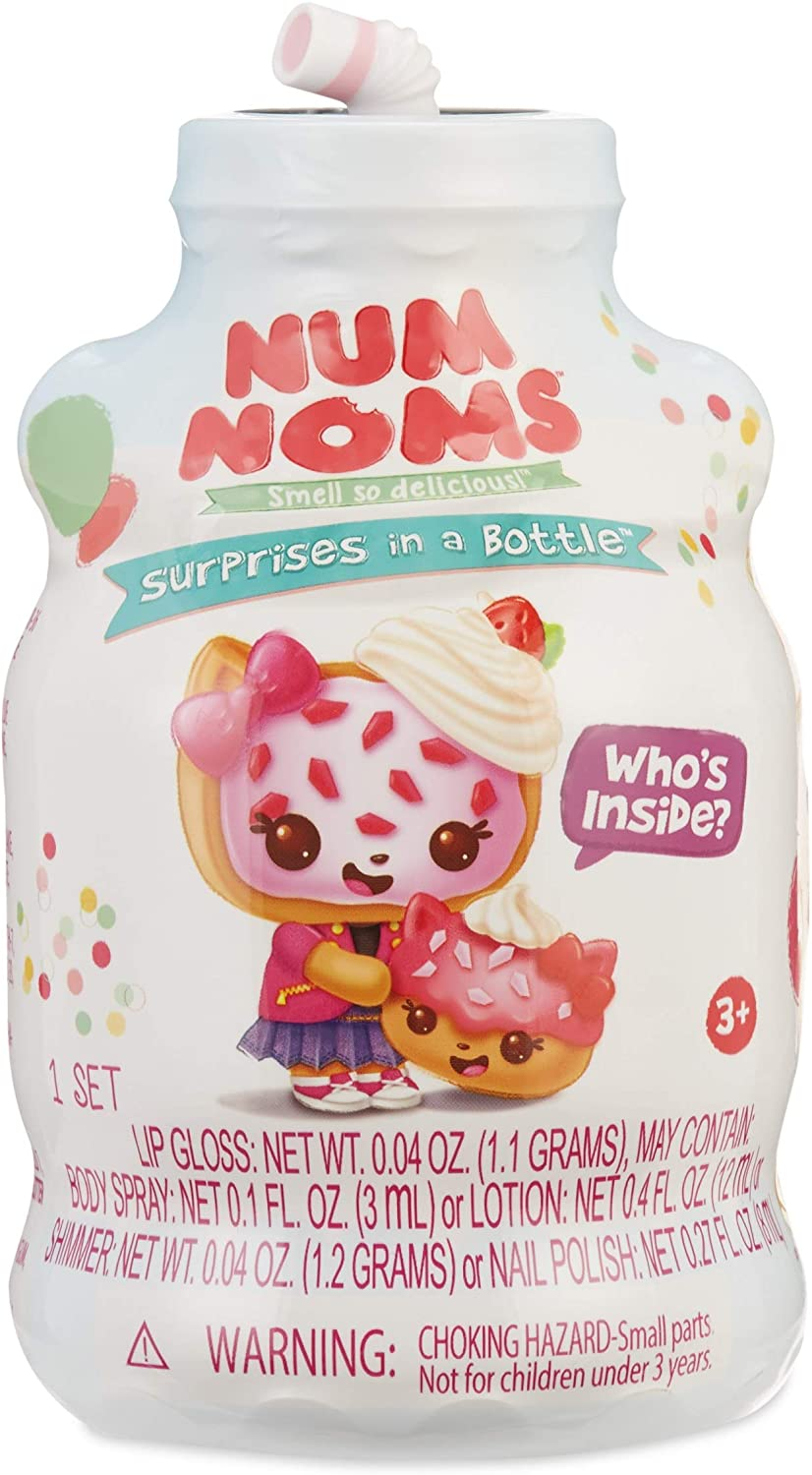 Num Noms Mystery Makeup with Hidden Cosmetics Inside, Multicolor