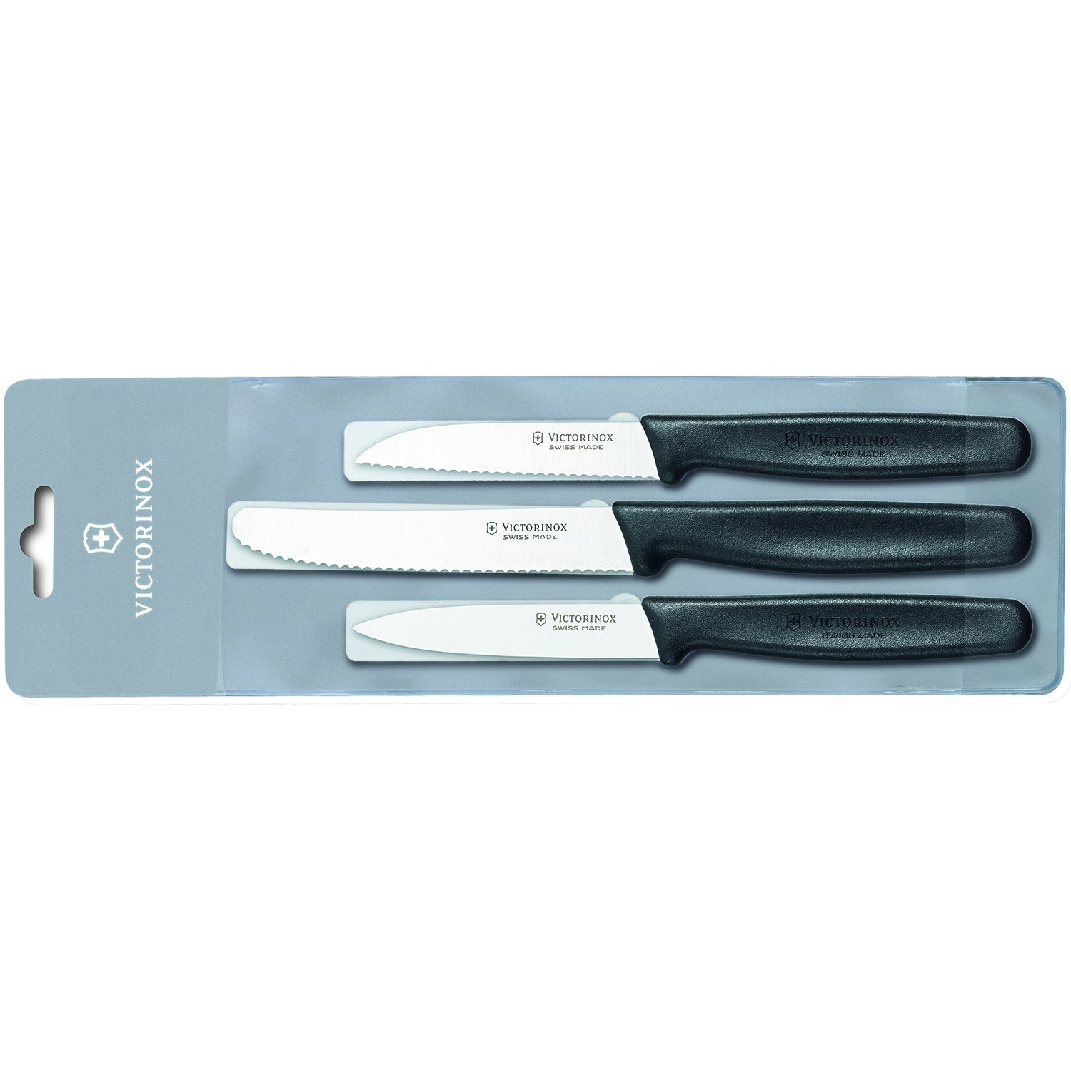 Victorinox Plastic Handle Set Of 3 Parers (Pack of 2)