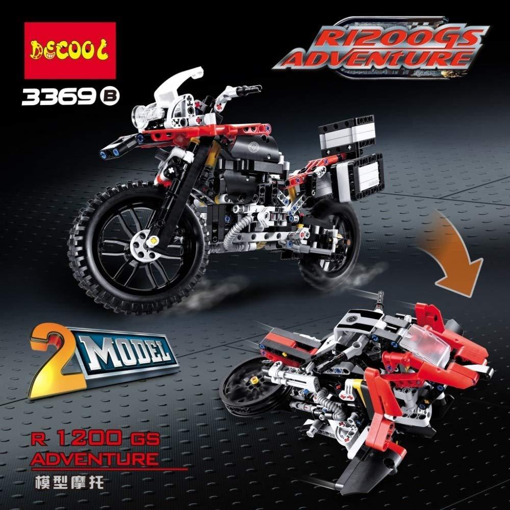 Aquaman Store Blocks - City Compatible legoed technic Motorcycle Moto Motor Racing Motorbike Sets Building Blocks Models Kits Children Brick Kid Toys 1 PCs