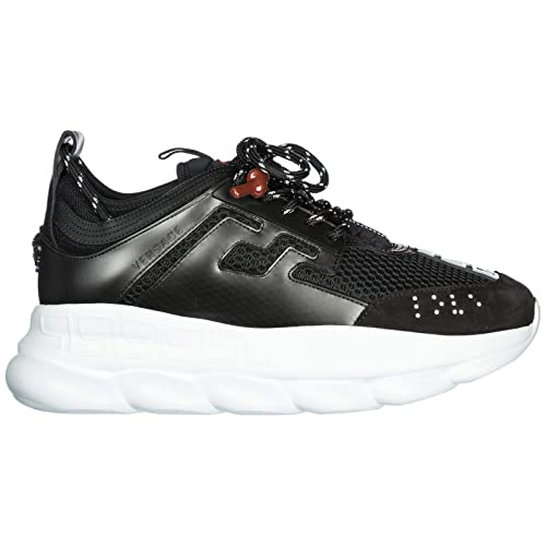 Versace Scarpe Sneakers Uomo Nuove Originale Chain Reaction ...