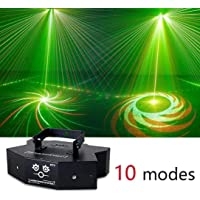 WDX- Sonido activado a distancia y Disco de control de la etapa luces estroboscópicas, luces de discoteca con RGB-7…