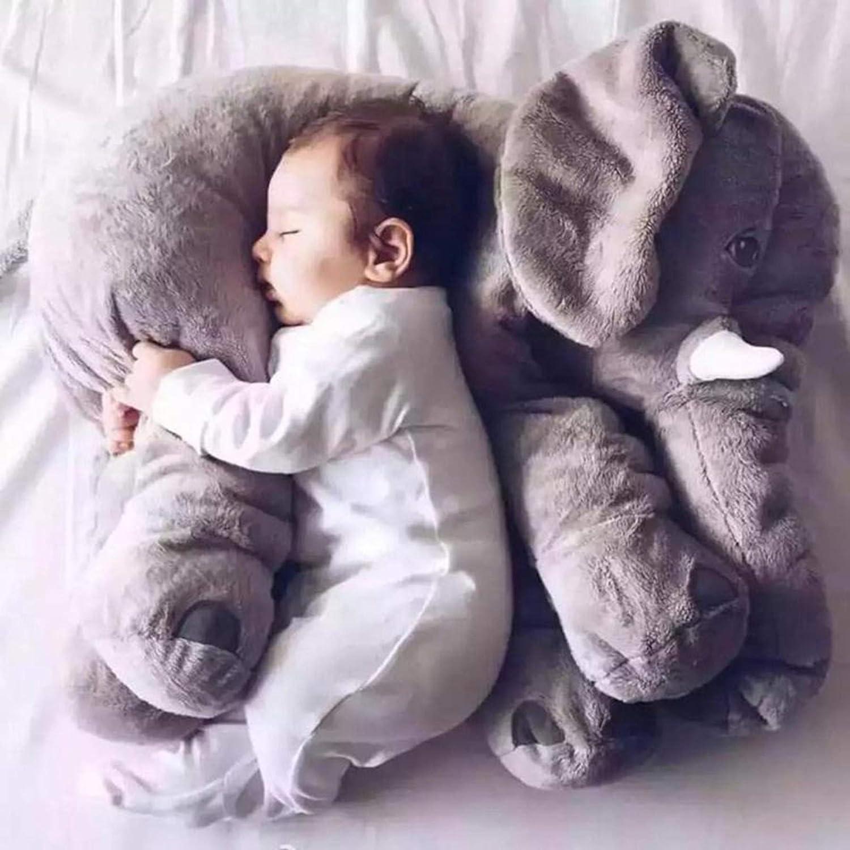 Encantador Cabeza plana, Formación de la cabeza, Anti reflujo, Plagiocefalia, Babycare, Newborn Baby Almohada Elefante Apacete Almohada Infantil Niños Bebé Ropa de cama Suave Bebé Almohada Cojín Relle