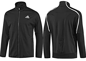 Adidas Herren Tennis Jacke Trainingsjacke Schwarz