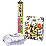 TENZI Dice Party Game Bundle with 77 Ways to Play A Fun, Fast Frenzy for The Whole Family - 4 Sets of 10 Colored Dice with St